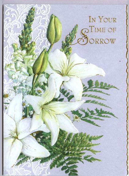 Carol S Garden: Sympathy Card By Carol's Rose Garden At Kann Imports In